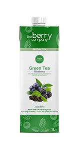 Green Tea and Blueberry Juice, 1 Litre, The Berry Company