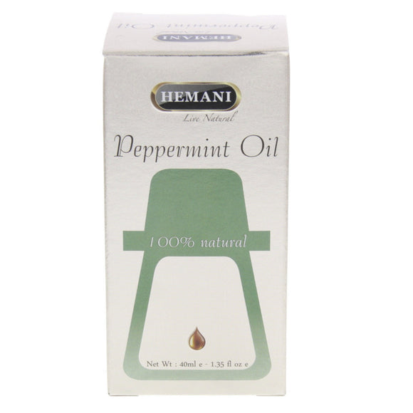Hemani Peppermint Essential Oil 40ml