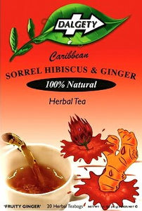 Hibiscus and Ginger Tea, Dalgety Teas - 40g