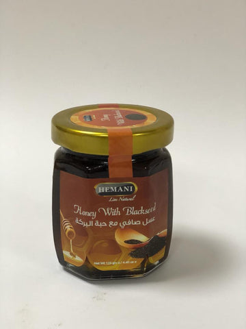Honey with Black Seed, Hemani, 125g