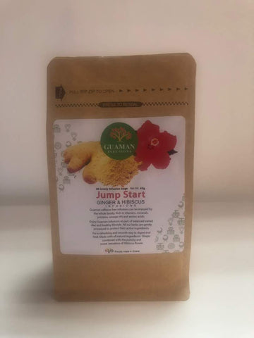 Ginger and Hibiscus Infusion Tea Bags *Proudly Made in Ghana*