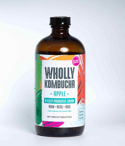Kombucha Apple Probiotic Drink- 500ml