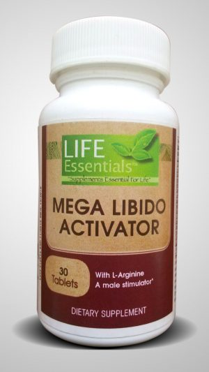 Mega Libido Activator, Dietary Supplement, 30 Tablets