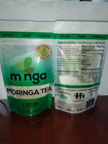 Minga Tea Moringa Teabags *Proudly Made In Ghana*