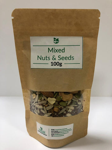 Mixed Nuts and Seeds (100g)