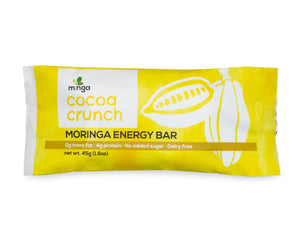Moringa Energy Bar, Cocoa Crunch