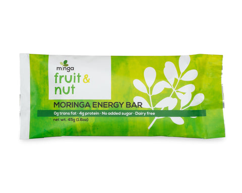 Moringa Energy Bar, Fruit and Nut