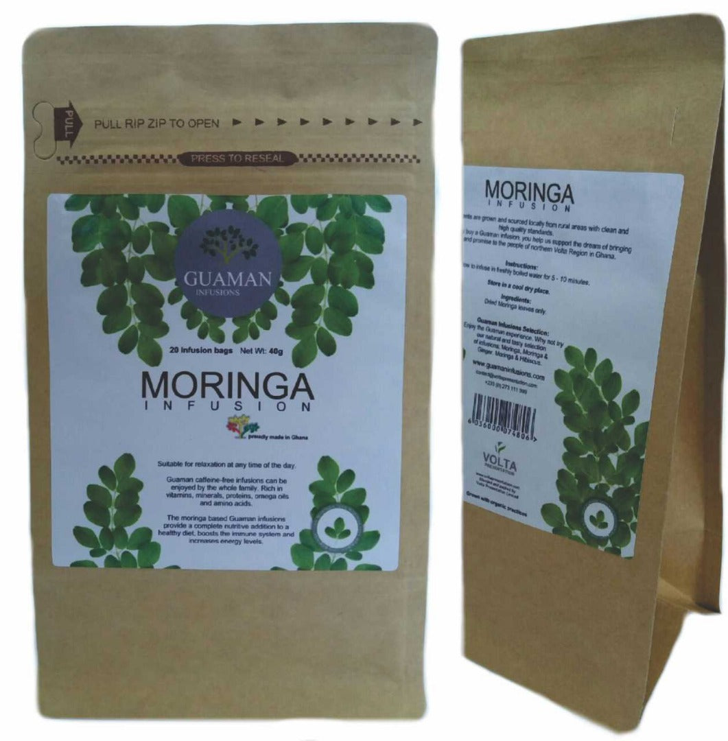 Moringa Infusion Tea Bags *Proudly Made in Ghana*