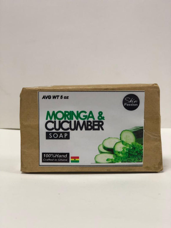 Skin Passion Moringa & Cucumber Bar Soap