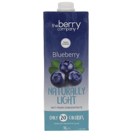 Naturally Light Blueberry, 1L, The Berry Company
