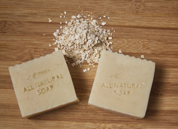 Oatmeal and Lavender Bar Soap for Sensitive Skin