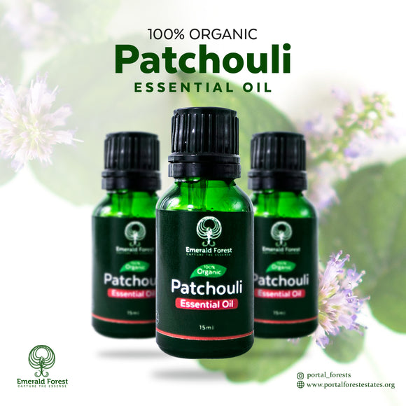 Emerald Patchouli Essential Oil,15ml