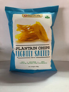 Sankofa Plantain Chips Lightly Salted *Proudly Made in Ghana*