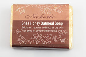 Shea Honey Oatmeal Bar Soap, Sensitive Skin