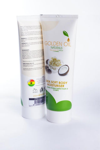 Shea Soft Moisturiser Cream - Golden Oil Naturals
