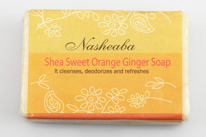 Shea Sweet Orange Ginger Bar Soap