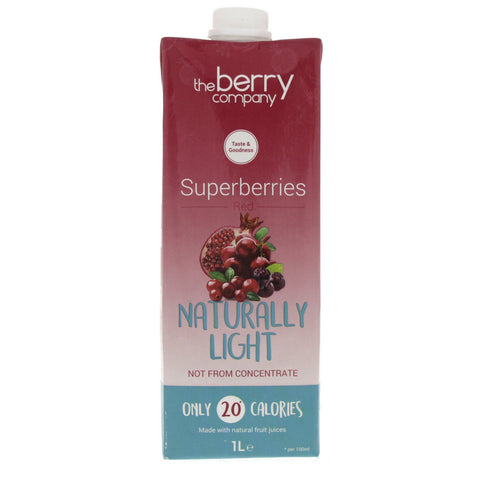 Naturally Light Superberries Red, 1L, The Berry Company
