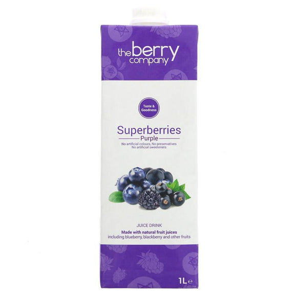 Superberries Purple Juice, 1 Litre, The Berry Company