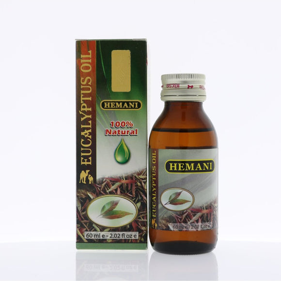 Hemani Eucalyptus Essential Oil, 60ml