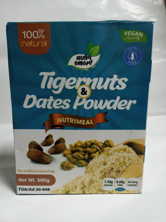 Nutri-Meal (Tigernuts and Date Powder) - 500g