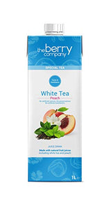 White Tea and Peach Juice, 1 Litre, The Berry Company