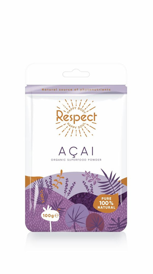 Respect Acai Berry Powder, 100g