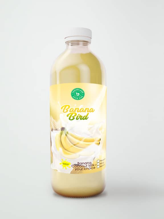 Banana Bird Juice, Cedarlane, 500ml