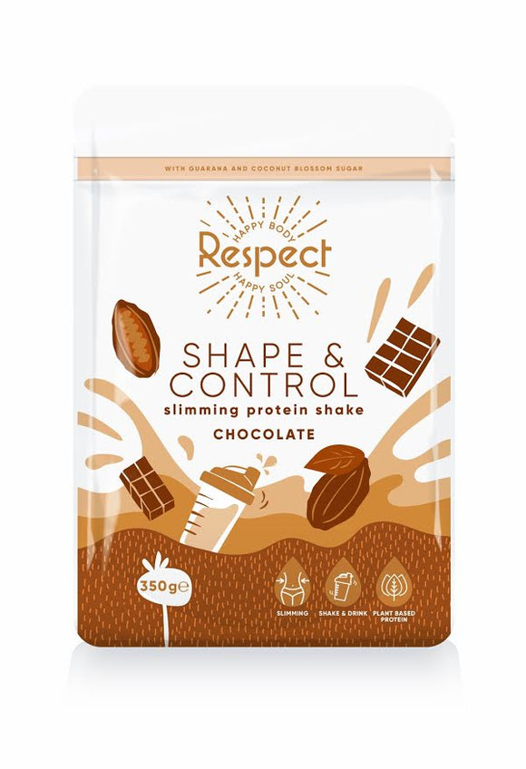 Respect Shape and Control Chocolate 350g Protein Shake