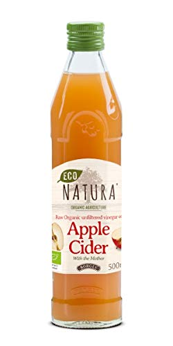 Eco Natura Apple Cider Vinegar 500ml (includes the mother)