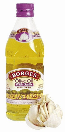 Borges Olive Oil with Garlic, 250ml