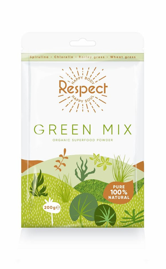 Respect Green Mix Powder, 200g