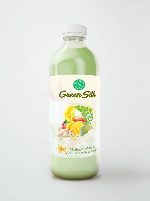 Green Silk Juice, Cedarlane, 500ml