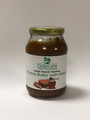 Peanut Butter with Honey