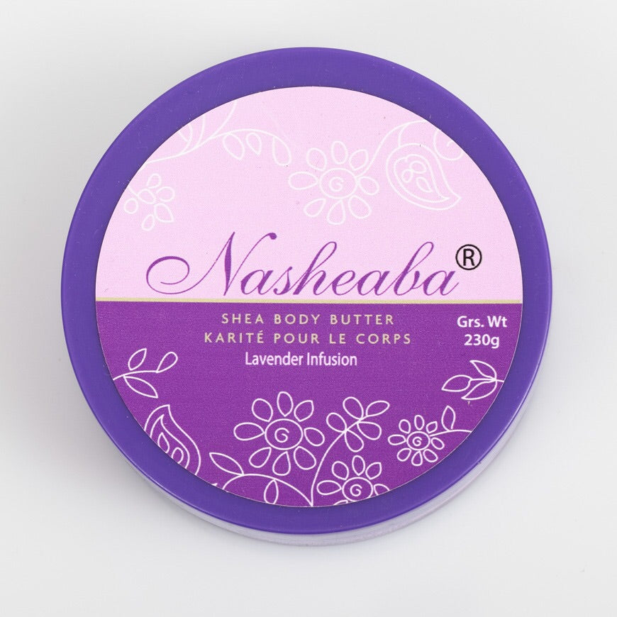 Shea Body Butter Lavender Infusion