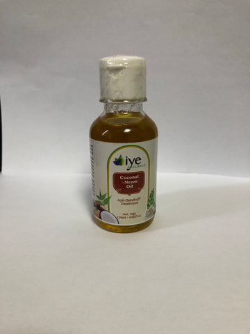 Coconut and Neem oil (Anti-Dandruff oil) *Proudly Made in Ghana*