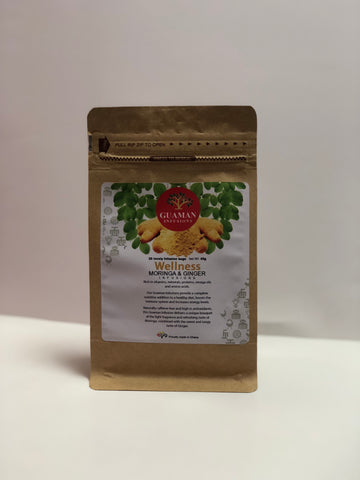 Moringa and Ginger Infusion Tea Bags *Proudly Made in Ghana*