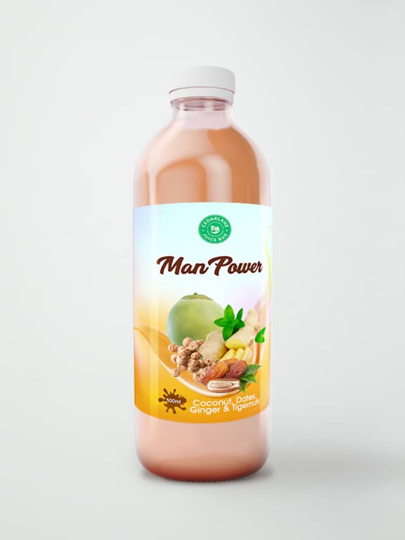 Man Power Smoothie, Cedarlane,500ml
