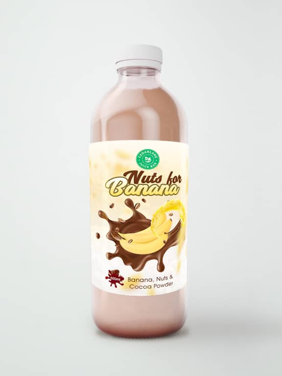Nuts for Banana Smoothie, Cedarlane, 500ml