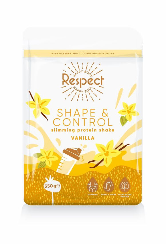 Respect Shape and Control Vanilla Slimming Protein Shake, 350g