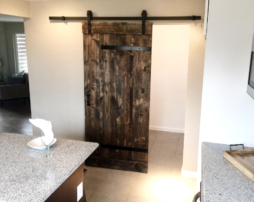 Jacobean Barn Doors