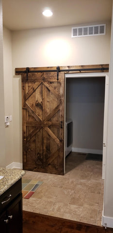 Special Walnut Barn Doors