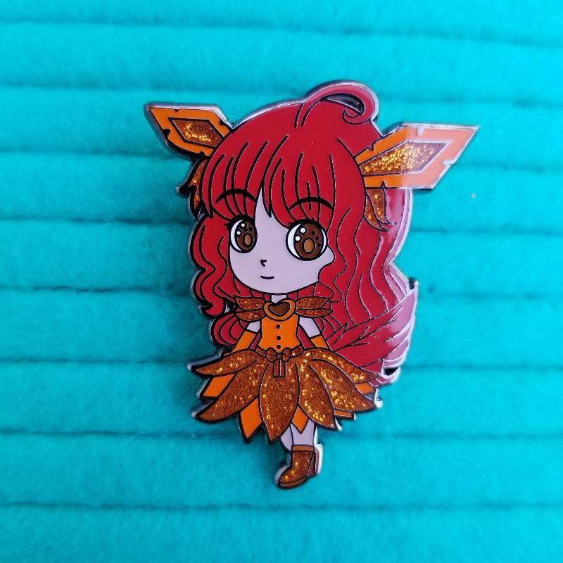 Autumn Grass Type Hard Enamel Pin
