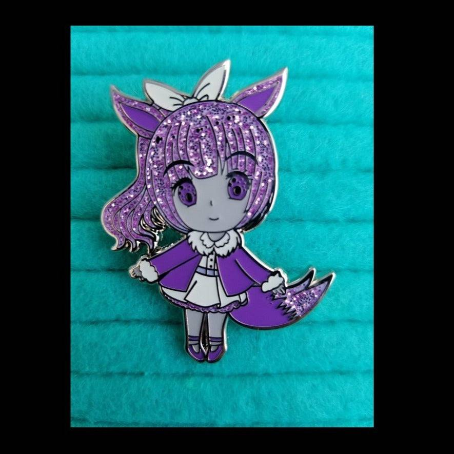 Lilac Normal Type Hard Enamel Pin