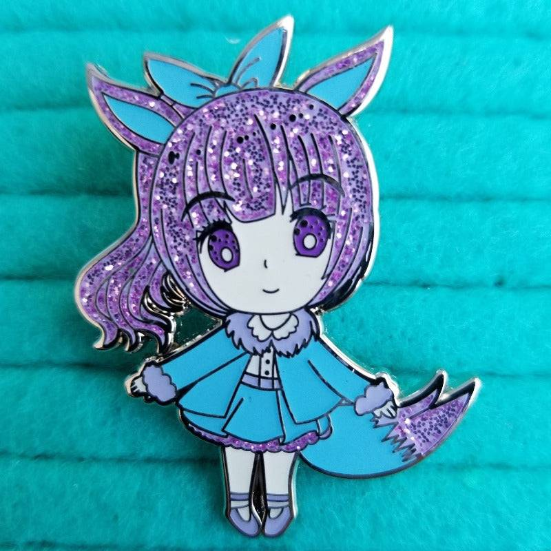 Periwinkle Normal Type Hard Enamel Pin