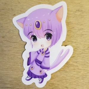 Espeon Boy Chibi Sticker
