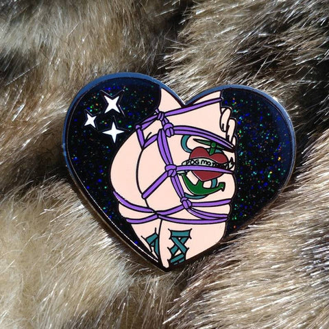 Miss Myzaree Shibari Pin Hard Enamel Pin
