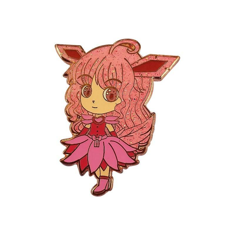 Summer Type Pocket Monster Chibi Hard Enamel Pin