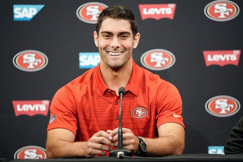 Can Jimmy Garoppolo give hope the 49er faithful? By Randall Cooper
