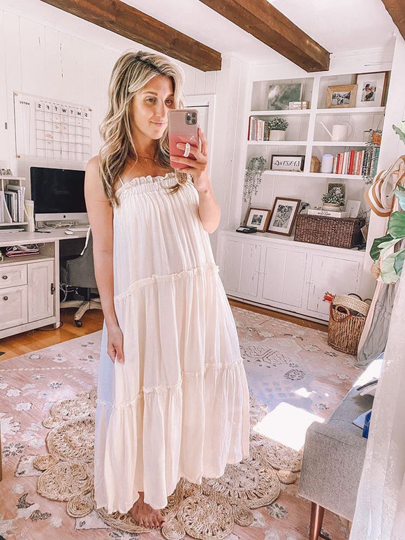 Keely Tiered Maxi Dress