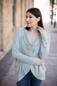 Harper Twist Sweater - Final Sale - STONE AND WILLOW